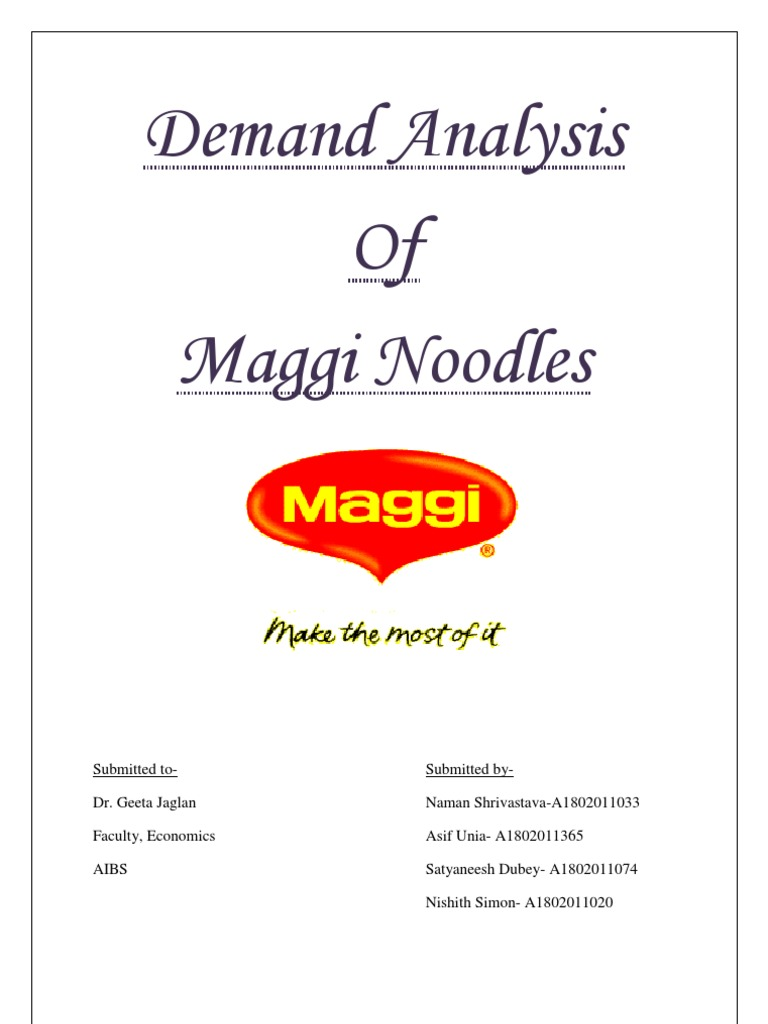 income elasticity of demand analysis of nestle Income elasticity of demand measures the relationship between a change in  quantity demanded for good x and a change in real income check out our short.