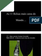Bolsas Caras Do Mundo (1)