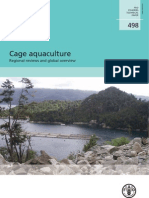 Cage aquaculture. Regional reviews and global overview