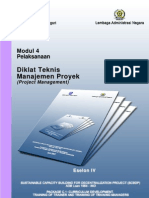 Modul 4 Eselon 4 Manajemen Proyek