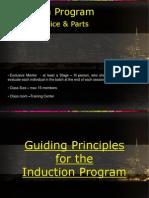 Induction Program Design