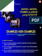 14. Model-Model Pembelajaran Yang Efektif