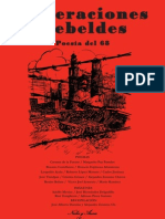 Generaciones Rebeldes 2a Ed, antologia poetica del movimiento estudiantil mexicano de 1968, por Jose Alberto Damian y Alejandro Zenteno Chavez