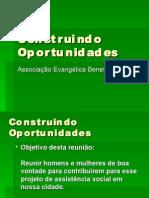 Construindo Oportunidades - Grupo João Baptista