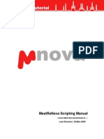 Scripting With Mnova 5.3.0