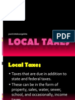 Other Local Taxes Ppt
