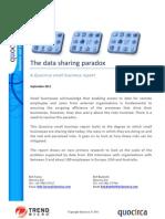 The data sharing paradox