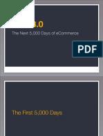 Web 3.0 - The Next 5,000 Days of eCommerce