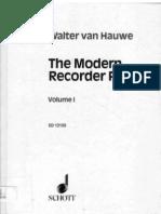 Van Hauwe Modern Recorder Player