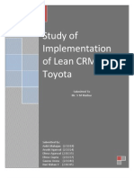 Implementation of Lean CRM in Toyota.2