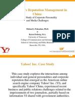 Yahoo! Case Study Presentation for China (FINAL)