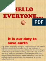 Anchal Save Earth