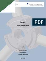 Manual Propellernabe