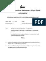 Assignment SAIT I