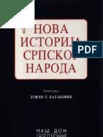 Dusan T. Batakovic - Nova Istorija Srpskog Naroda