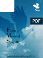 FMS Delhi Placement Brochure