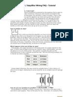 Speaker Amplifier Wiring Tutorial