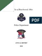 Beachwood Police 2010 Year End Report