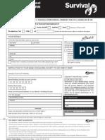 Direct Debit Form Bw