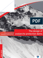 Design Avalanche Protection Dams