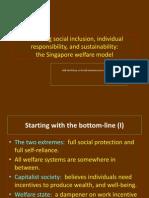 Balancing Social Inclusion, Individual Responsibility, and Sustainability