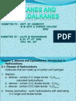 Alkanes and Cycloalkanes