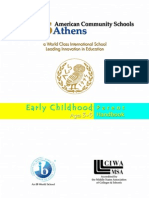 Early Childhood Booklet 2011-12