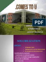 solubilisation