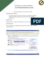 Creación de una cuenta en Gmail