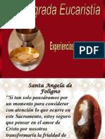 Eucaristía según los santos