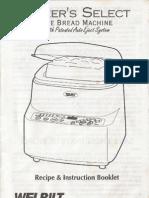 Welbilt ABM6200 Manual