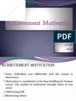 Achievement Motivation 2