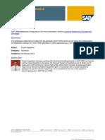 SAP CRM Middle Ware Configurations