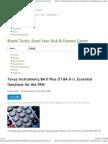 Texas Instruments BA II Plus (TI BA II+)