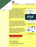 ZALS Company page1