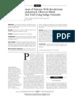 Estudio Sobre La Psoriasis y El Indigo Naturalis