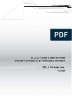 D-Link DGS-3100 CLI Manual v2.00