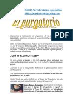 EL PURGATORIO   ALIANZA DE AMOR