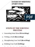 Writing Process Part One