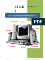 Section 1 - Types and Components of Computer Systems 041701