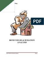 Bond Yields Duration