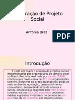 Elaboração do Projeto Social