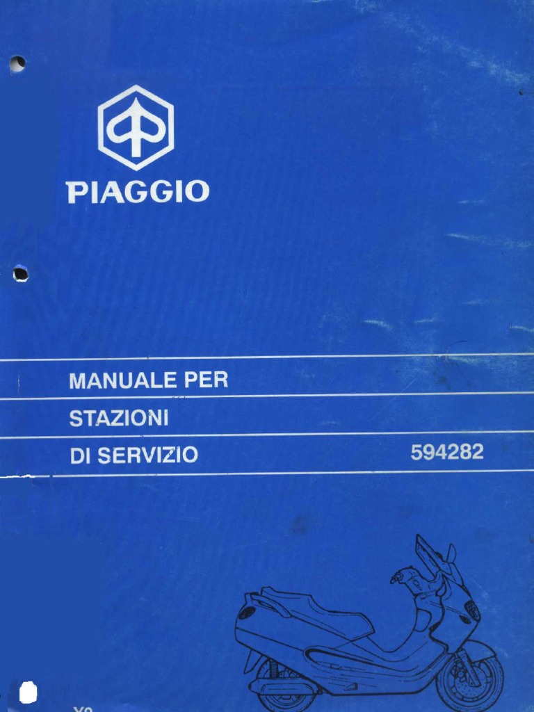 Schema Elettrico X9 250 : Manuale officina piaggio