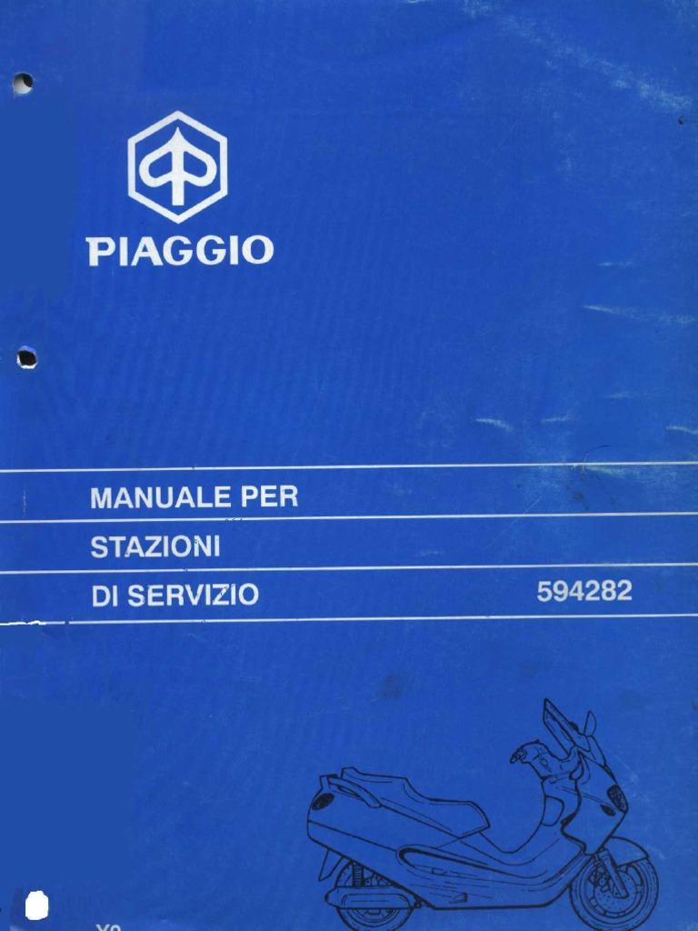 Manuale Officina Piaggio X9 250