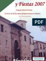 Almedina FYT Fiestas Patronales 20071000 00 Programa
