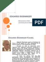 Democracia en Chile. Lecciones Para La Gobernabilidad -Edgardo Boeninger