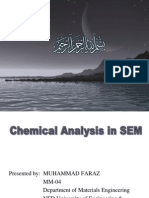 Chemical Analysis in SEM Final
