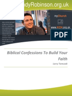 Biblical Confessions to Build Your Faith
