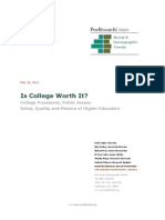 Higher Ed Report