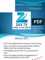 ZEE Telefilms' Competitive Strategies